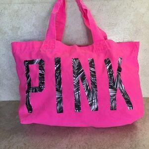 PINK Victoria's Secret Bags - Victoria's Secret PINK Canvas Tote Bag